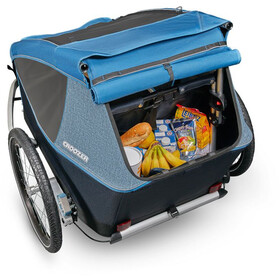 Croozer Kid Plus for 2 Fahrradanhänger ocean blue